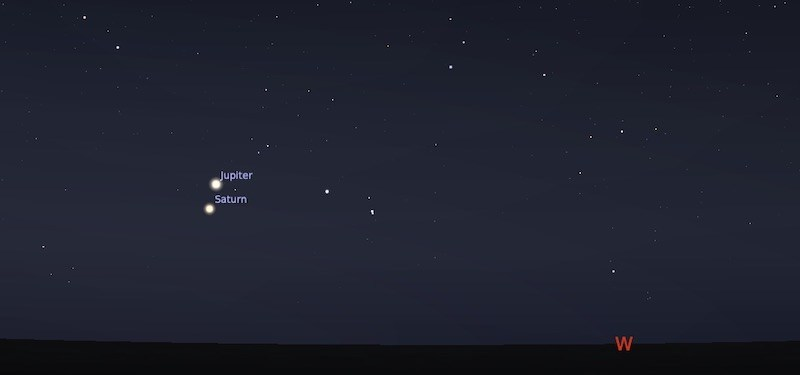 Konjungsi Jupiter - Saturnus