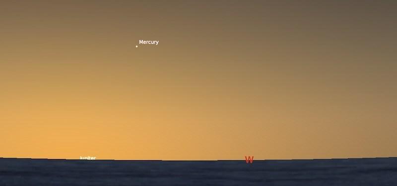 Elongasi Timur Maksimum Merkurius